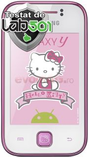 Telefon Mobil Galaxy Young S5360 Hello Kitty