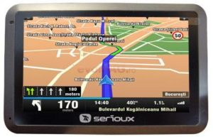 Sistem de Navigatie UrbanPilot Q475T2 500MHz MIcrosoft Windows CE 6.0 TFT Touchscreen 4.3 Fara Harta.jpg.600
