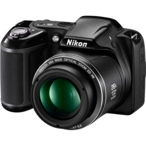 Aparat foto digital Nikon COOLPIX L320, 16.1MP, Black