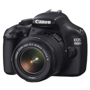 Canon EOS 1100D, 12.2MP + Obiectiv EF-S 18-55mm DC III
