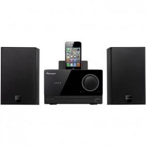 Microsistem audio Pioneer X-CM31-K, CD Player, Docking, tuner FM, USB, AUX, 2x15W
