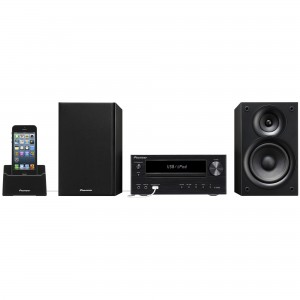 Microsistem audio Pioneer X-HM21-K, CD Player, Docking, tuner FM, USB, AUX, 2x15W