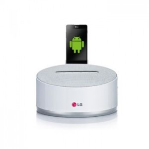 Sistem de andocare LG ND1531, USB, Bluetooth, pentru Android, Alb